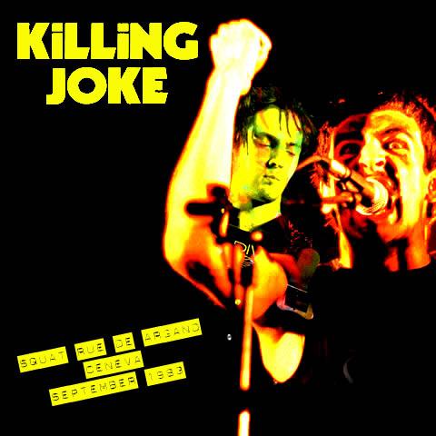 Killing Joke, live at Squat Rue De Argand, Geneva, September 1983
